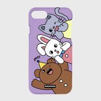 Animal friends-purple(color jelly)