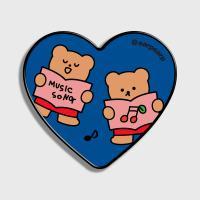 Music song bear-blue(하트톡)