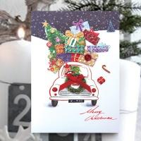 크리스마스카드/성탄절/트리/산타 선물 크리스마스카드 FS1025-5