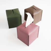 Edge leather Tissue Cover(S)