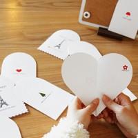 [하이모리]  하트 메세지 카드 (Heart Message Card)  [엽서]