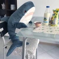 80cm 100cm 초대형 상어인형 동물 수면 애착 쿠션 선물