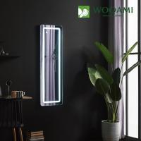 [우아미] 퍼블릭 LED 터치 사각 벽걸이 전신 거울