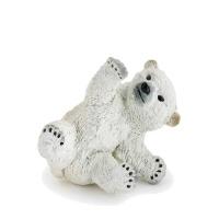 장난치는 아기북극곰