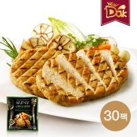 뉴닭 닭가슴살 스테이크 갈릭맛 100g 30팩