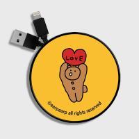 Bear cookle-yellow(스마트릴)