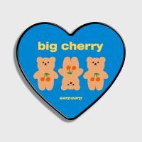 Three cherry big bear-blue(하트톡)