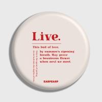 [어프어프] 손거울 Live-Ivory