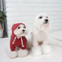 강아지후드티 강아지겨울옷 데일리후드
