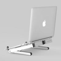 엘바 휴대용 알루미늄 노트북 거치대 받침대 H1