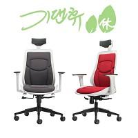 [기댄휴] 진레보 클래시B의자 사무실 책상 학생 공부 디자인 요추체어 (S02446)