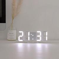 레토 미니 3D LED시계 탁상/벽시계 LLC-P03DS