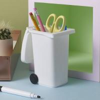 [럭키스] 쓰레기통 데스크 연필꽂이 펜홀더 펜꽂이
