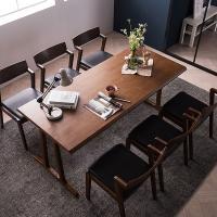 [채우리] 바티코 고무나무원목 6인식탁세트(의자)