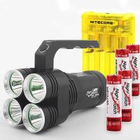 LED 써치라이트 세트 4E85L-Q4Y 264 손전등 8500루멘