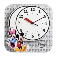 디즈니 무소음 D843 노글라스 미키미니 캐릭터벽시계