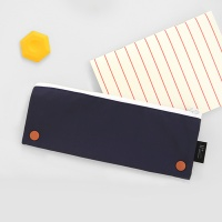 Two button case_Navy