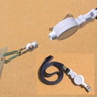 [Union PLUS] 출입증,명찰 등에 걸어 출입을 편리하게..유니온 ID카드용 릴 홀더 목걸이줄 HC20-4