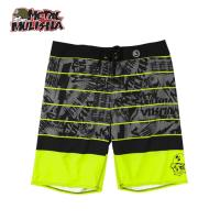 RADIATE BOARDSHORT (BLACK W/YELLOW)