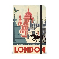 카발리니 스몰 노트북 - 빈티지 런던