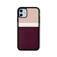 스매스 아이폰11 보호 카드케이스 씨원_퍼플레드