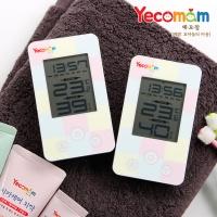 예꼬맘 디지털 온습도계 시계겸용
