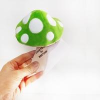 Love Pet Squeaky Mushroom Green바스락삑삑
