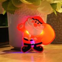 LED 플래시라이트 뱃지 (자루든산타)