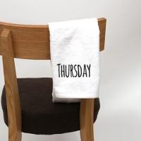 요일타올set(150g) - day of the week towel 1P