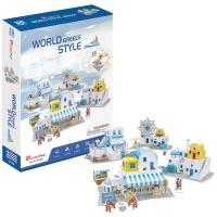 [3D퍼즐마을][W3188h] 월드스타일 그리스 (World Style Greece)