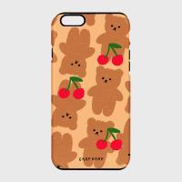 Dot cherry big bear-beige(터프/슬라이드)