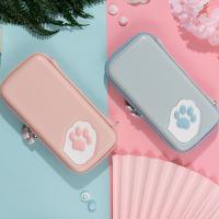 닌텐도 스위치 고양이발 파스텔 휴대용 케이스