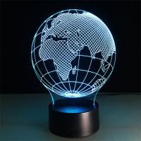 지구본 USB LED 아크릴 무드등 수면등 취침등