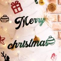 크리스마스 월데코장식-오너먼트(그린)