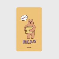 [어프어프] 보조배터리 Bear box-mustard