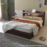 [보루네오 하우스] 아르메 엘피노 LED 평상형 침대 SS_밸런스 독립라텍스매트