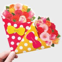 뽑아쓰는 꽃다발카드(랜덤)