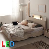 모델하우스 LED조명 침대 퀸 KC143