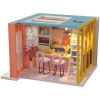 DIY 미니어처하우스 캐노피 2층