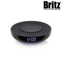 브리츠 거치식 고속 무선 충전기 BZ-T1 WC (QC 3.0 지원 / LED시계 / 무드등 기능)