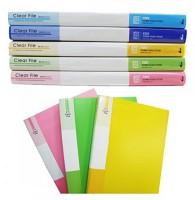 A4 클리어파일 20p 화일 학용품 사무용품 문구 바인더 서류정리 클리어 파일철 문구