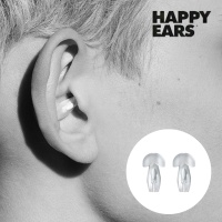 [소음차단 귀마개] HAPPYEARS 이어플러그(M)+파우치증정