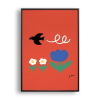 Bird/ 일러스트 액자