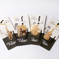 MUSIC IN MY HEART  BOOKMARK 4종세트