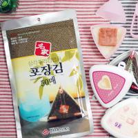 명가김 삼각김밥 만들기세트(김100+틀1+도시락2)