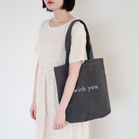 WY Tote bag- Darkgray