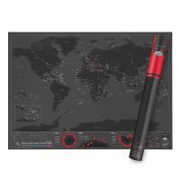 [원더스토어] 럭키스 스크래치 맵 세계지도 캐피탈
