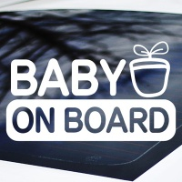 BABY ON BOARD - 초보운전스티커(NEW095)