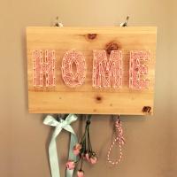 키고리 스트링아트 HOME 만들기 패키지 DIY