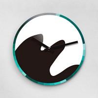 Reflex CEO MOUNT 무소음벽시계(대) NA280-BK